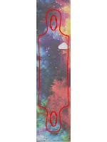 galaxy Custom skateboard griptape