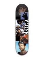 weird shit Banger Park Skateboard 8 x 31 3/4