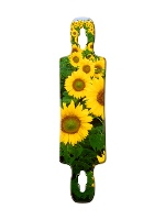 Sunflower oasis Gnarlier 38 Skateboard Deck v2