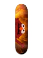 Elmo Banger Park Skateboard 8 x 31 3/4