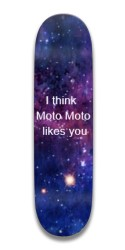 moto moto likes you Park Skateboard 7.5 x 31.370