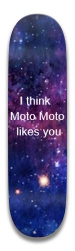 moto moto likes you Park Skateboard 7.5 x 31.370