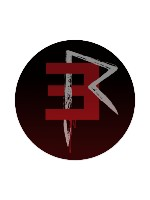 EMINEM Blood Sticker 4 x 4 Circle