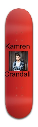 Kamren Crandall 2 Park Complete Skateboard 8 x 31 3/4