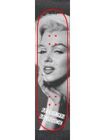 Marilyn Monroe Custom skateboard griptape
