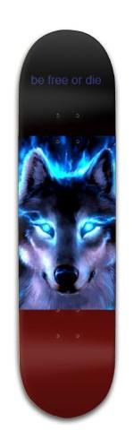 big bad wolf Banger Park Skateboard 8 x 31 3/4