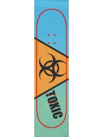 TOXIC Custom skateboard griptape