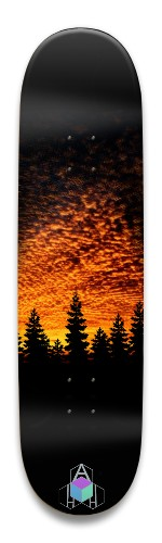 Sunset forest Park Skateboard 8.5 x 32.463