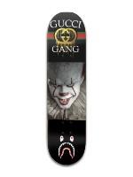 guccibapwise board Banger Park Skateboard 8 x 31 3/4