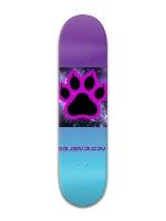 Galaxy Puppy Banger Park Skateboard 8 x 31 3/4