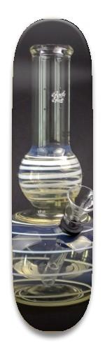 Glowfly Glass 8.5 Park Skateboard 8.5 x 32.463