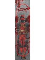 deadpool Custom skateboard griptape