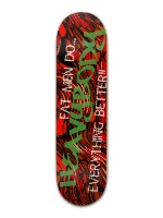 Lightbody's heavy bodied boards Banger Park Skateboard 8.5 x 32 1/8