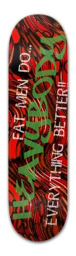 Lightbody's heavy bodied boards Banger Park Skateboard 8.5 x 32 1/8