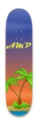 Tropical beach Park Skateboard 8.25 x 32.463