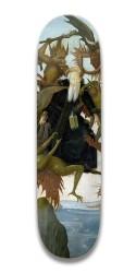 michaelangelo Park Skateboard 7.5 x 31.370