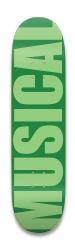 IMPACT/green Park Skateboard 8.25 x 32.463
