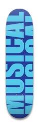 IMPACT/blue/offcentre Park Skateboard 8.25 x 32.463