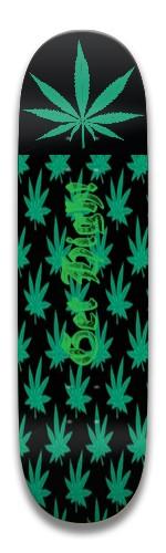 Get High! Park Skateboard 7.5 x 31.370