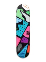 Q's custom board Banger Park Skateboard 8 x 31 3/4