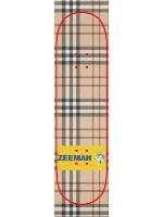 Burberry x Zeeman Custom skateboard griptape