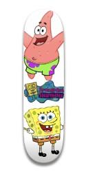 spongebob Park Skateboard 7.5 x 31.370