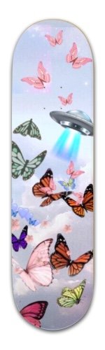 butterfly sky Banger Park Complete Skateboard 8.5 x 32 1/8