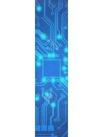 circuitboard Custom longboard griptape