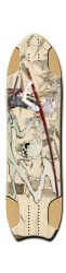 Samurai Girl NKD Longboard