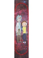 Rick and Morty- planning for failur Custom skateboard griptape