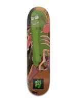 Pickle Rick Banger Park Skateboard 8 x 31 3/4