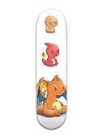 Fire starters skateboard Banger Park Skateboard 8 x 31 3/4