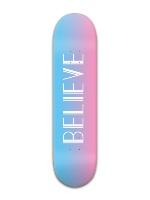 Believe Banger Park Skateboard 8 x 31 3/4