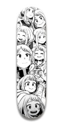 Uraraka Fan Stuff Park Skateboard 7.5 x 31.370