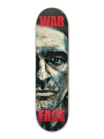 War Face Banger Park Skateboard 8.5 x 32 1/8
