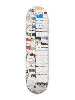 white bricks Banger Park Skateboard 8 x 31 3/4
