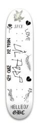 lil peep Park Skateboard 7.88 x 31.495
