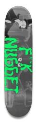 fuck nugs Park Skateboard 8.5 x 32.463