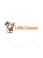 Little Caesars Sticker 4 x 4 Circle