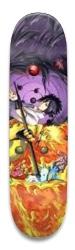 Naruto vs Sasuke Park Skateboard 8.5 x 32.463