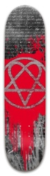 Heartagram Park Skateboard 8 x 31.775