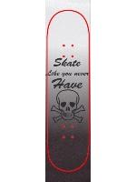 Skateboarding scull Custom skateboard griptape