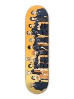 HAIKYUU! kurasano team Banger Park Skateboard 8.5 x 32 1/8