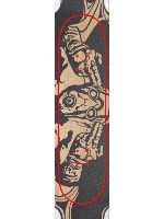 borderlands Custom skateboard griptape