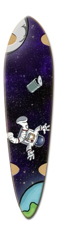 Space Oddity Dart Complete Skateboard Deck v2
