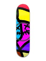 zip colur Banger Park Skateboard 8 x 31 3/4