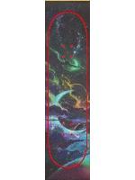Galactic Golden Custom skateboard griptape