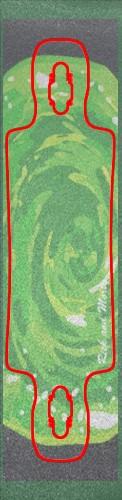 portal griptape Custom skateboard griptape