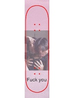 Fuck you Custom skateboard griptape