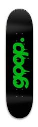 Goopcast Custom Skateboard Park Skateboard 7.88 x 31.495